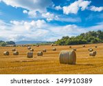 Beautiful Landscape With Straw...