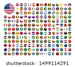 web buttons with world country... | Shutterstock .eps vector #1499114291