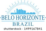 belo horizonte brazil city.... | Shutterstock .eps vector #1499167841