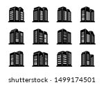 perspective building and...   Shutterstock .eps vector #1499174501