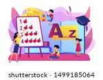 primary school. elementary... | Shutterstock .eps vector #1499185064