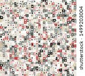 a seamless pattern consisting... | Shutterstock .eps vector #1499203004