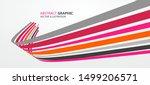 sense of perspective arrows ... | Shutterstock .eps vector #1499206571