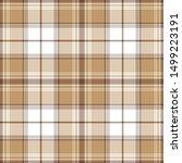Brown Check Plaid Pattern....
