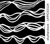 brush pattern. abstract texture.... | Shutterstock .eps vector #1499233124