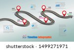 business road map timeline... | Shutterstock .eps vector #1499271971