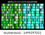 green  emerald glossy gradient  ...   Shutterstock .eps vector #1499297021
