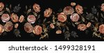 embroidery vintage buds of... | Shutterstock .eps vector #1499328191