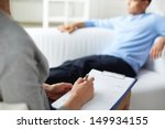 female psychologist making... | Shutterstock . vector #149934155