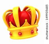 3d Render Of A Crown