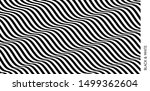 black and white design. pattern ... | Shutterstock .eps vector #1499362604