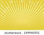 gold background vector  | Shutterstock .eps vector #149940551