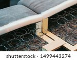 inside filling of couch ...   Shutterstock . vector #1499443274