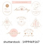 collection of logos and icons... | Shutterstock .eps vector #1499469167