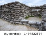 Trenches On A World War I...