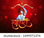 illustration of hindu mythology ... | Shutterstock .eps vector #1499571374
