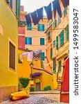 old street in boccadasse... | Shutterstock . vector #1499583047