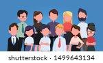group of business men and women ...   Shutterstock .eps vector #1499643134