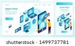 vector cross platform... | Shutterstock .eps vector #1499737781