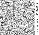 vector seamless pattern of... | Shutterstock .eps vector #1499741714