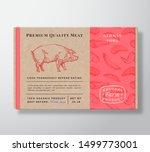meat pattern realistic...   Shutterstock .eps vector #1499773001