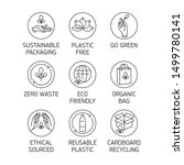 vector set of logos  badges and ... | Shutterstock .eps vector #1499780141