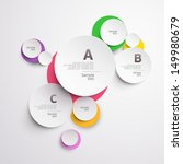 design colorful circle.   Shutterstock .eps vector #149980679