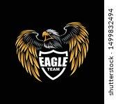 logo team eagle   logo esport ...   Shutterstock .eps vector #1499832494