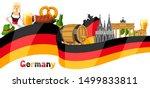 german background design.... | Shutterstock .eps vector #1499833811