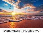 Beautiful Sunrise Over The...