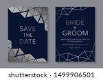 set of modern geometric luxury...   Shutterstock .eps vector #1499906501