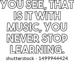 you see that is it with music... | Shutterstock .eps vector #1499944424