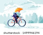 young businessman going to work ... | Shutterstock .eps vector #1499946194