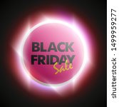black friday sale ad round... | Shutterstock . vector #1499959277