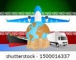 iran logistics concept... | Shutterstock .eps vector #1500016337
