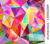 beautiful colorful abstract... | Shutterstock . vector #150002009