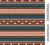 seamless vector pattern in... | Shutterstock .eps vector #1500100661
