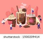 tiny characters among huge... | Shutterstock .eps vector #1500209414