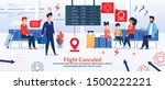 cartoon businessman or manager  ... | Shutterstock .eps vector #1500222221