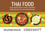 delicious thai food concept... | Shutterstock .eps vector #1500234377