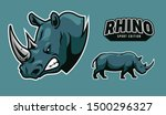 Rhino Sport Icon On Vector Art