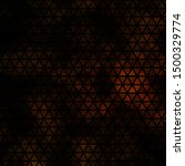 dark orange vector pattern with ...