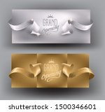 grand opening god and silver... | Shutterstock .eps vector #1500346601