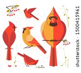 birdwatching  bird feeding icon ...   Shutterstock . vector #1500415961