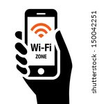wi fi zone icon