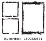 abstract grunge border frames... | Shutterstock .eps vector #1500530591