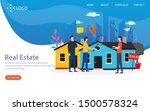 real estate vector illustration ...