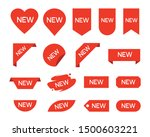 new ribbons. product stickers...   Shutterstock .eps vector #1500603221