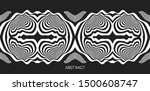 pattern with optical illusion.... | Shutterstock .eps vector #1500608747