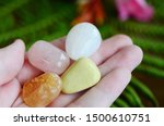 positivity crystals ... | Shutterstock . vector #1500610751